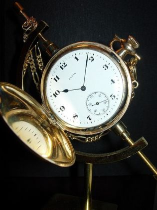pocket watch - public domain photo