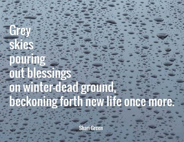 Rain - a Fib poem